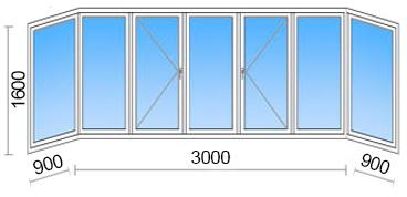 Балкон в 97 серии