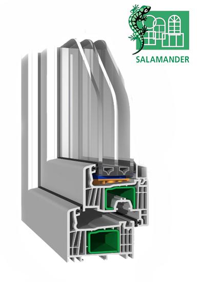 Оконный профиль ПВХ Саламандер