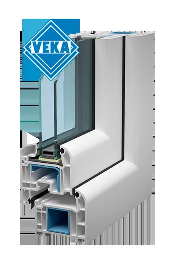 Пластиковые окна ПВХ Veka