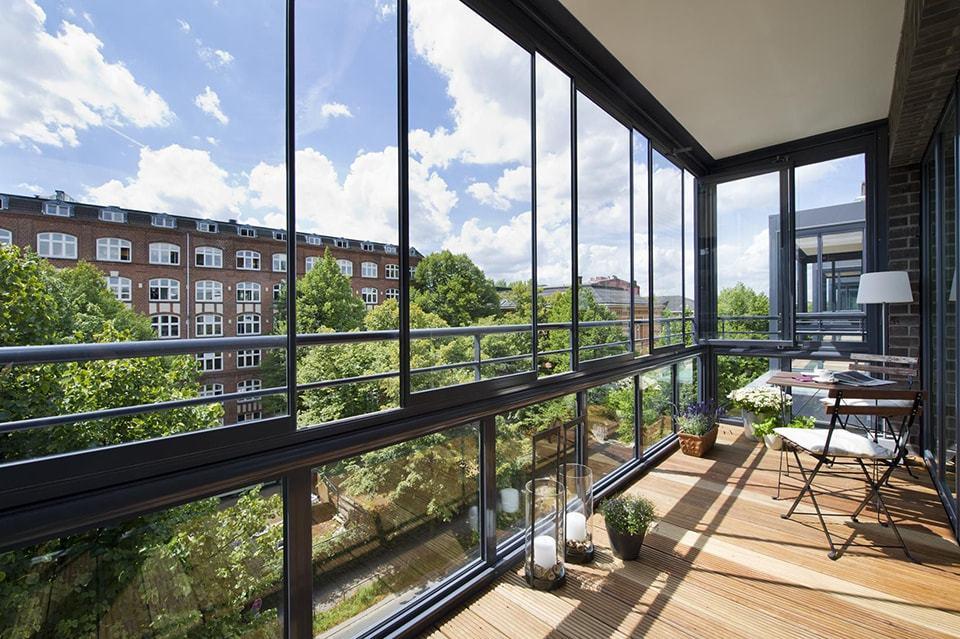 Установить алюминиевый балкон